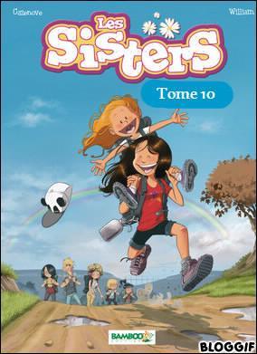 """Comment s'appelle le tome 10 des """"Sisters"""" ?"""