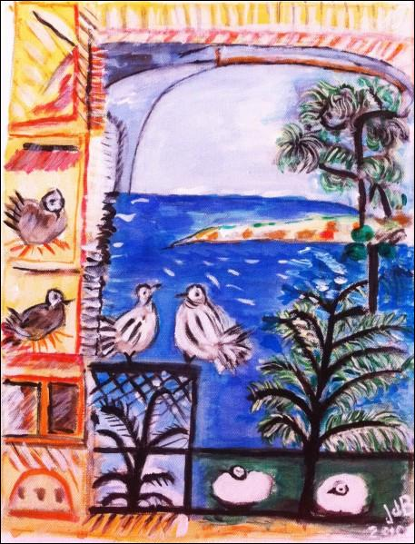 """Qui a peint """"Les pigeons"""" ?"""