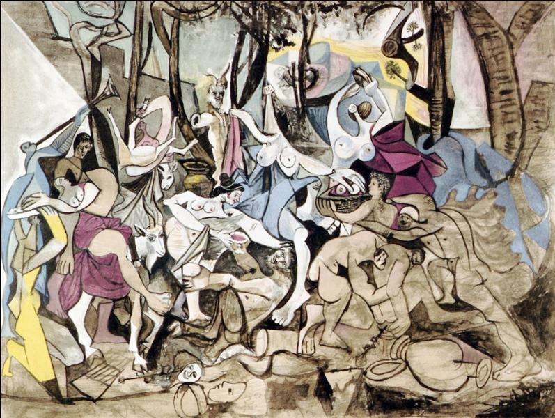 """Quii a peint """"Le triomphe de Pan"""" ?"""