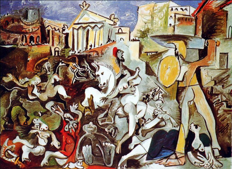 """Qui a peint """"L'enlèvement des Sabines"""" ?"""