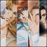 Dans quel anime retrouve-t-on ces beaux hommes ?