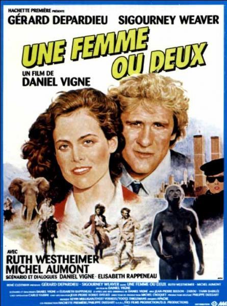 """Gérard Depardieu et Sigourney Weaver ont joué ensemble dans """"Une femme ou deux"""" en 1985. Pour quel autre film ont-ils également partagé l'affiche ?"""