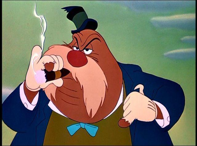 Dans quel Disney peut-on voir un morse amateur d'huîtres qui fume le cigare ?