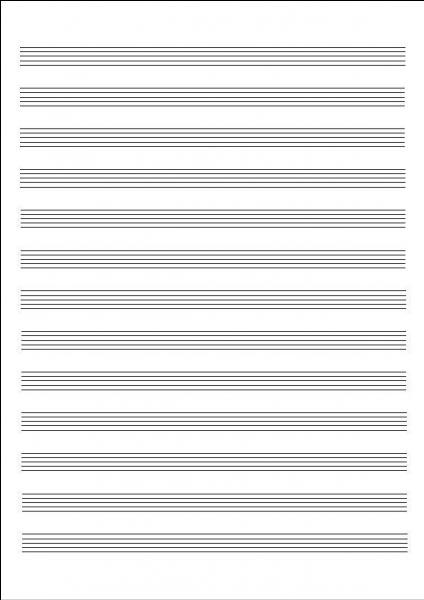 Au départ, tout commence par une page blanche recouverte de--- (Complétez ! )