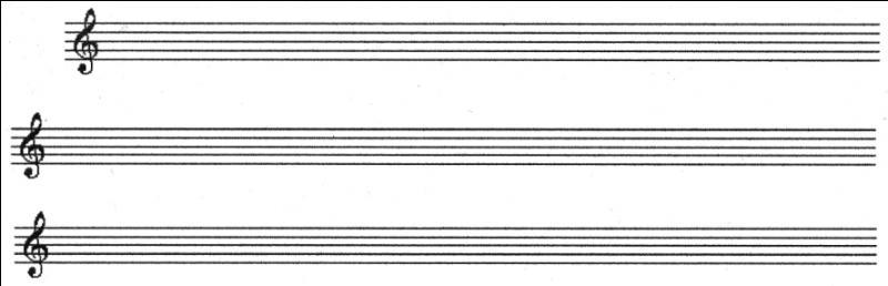 Puis, une fois que vous avez dessiné ces belles lignes, que faut-il pour ouvrir la portée ?