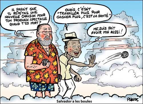 Citation de mon Guyanais préféré, Henri Salvador : J'ai chanté de belles chansons, mais ...