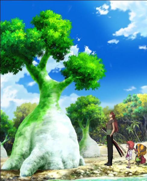 """Quelle est la particularité de ces arbres appelés """"Daft Green"""" ?"""