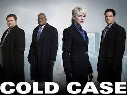 """Télévision - Dans la série télévisée """"Cold Case"""", quel est le genre d'affaires qui y sont traitées ?"""