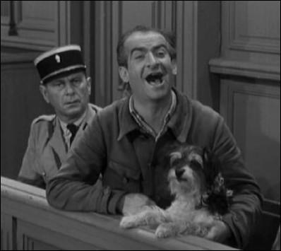 Dans le film « ni vu ni connu », comment Blaireau (braconnier de son état) a-t-il appelé son chien ?
