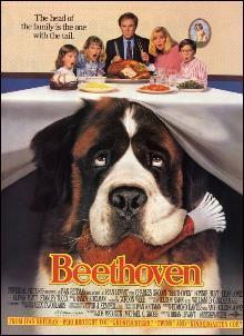 Pourquoi la famille Newton a-t-elle baptisé leur chien Beethoven ?