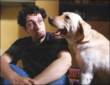 Dans le film « Didier », le labrador changé physiquement en humain devient :