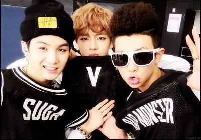 Lequel des trois est Min Yoongi ?
