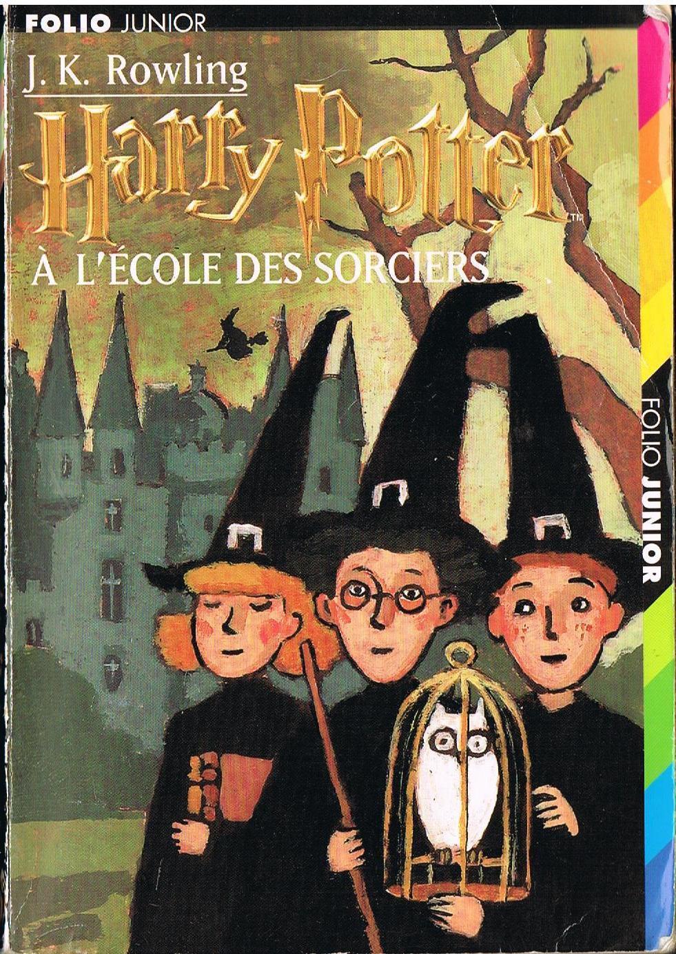 Harry Potter à l'école des sorciers (livre uniquement)