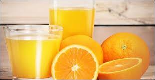 """Comment dit-on en anglais : """"Je bois un verre de jus d'orange."""" ?"""