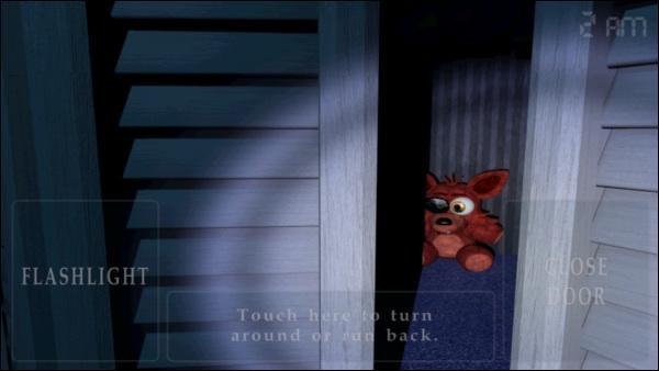 Quand Foxy se transforme en peluche qu'est-ce que cela veut dire ?