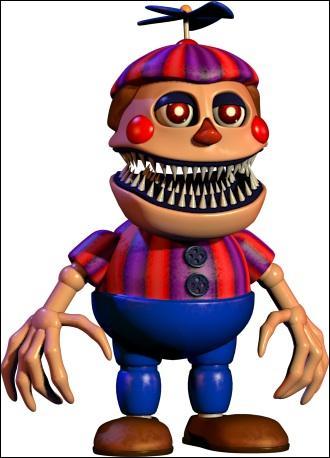 Nightmare balloon boy se trouve :