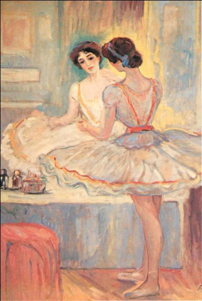 "Qui a peint ""Mademoiselle Zambelli dans sa loge"" ?"