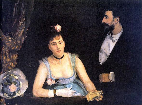 """Qui a peint """"La loge du théâtre des Italiens"""" ?"""