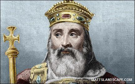 De quelle dynastie fait partie Charlemagne ?