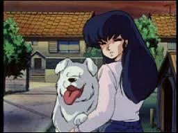 De quel dessin animé proviennent cette fille et son chien ?