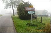 Nous commençons cette balade en Alsace, dans l'arrondissement de Saverne. Nous sommes à Asswiller, village situé dans le département ...