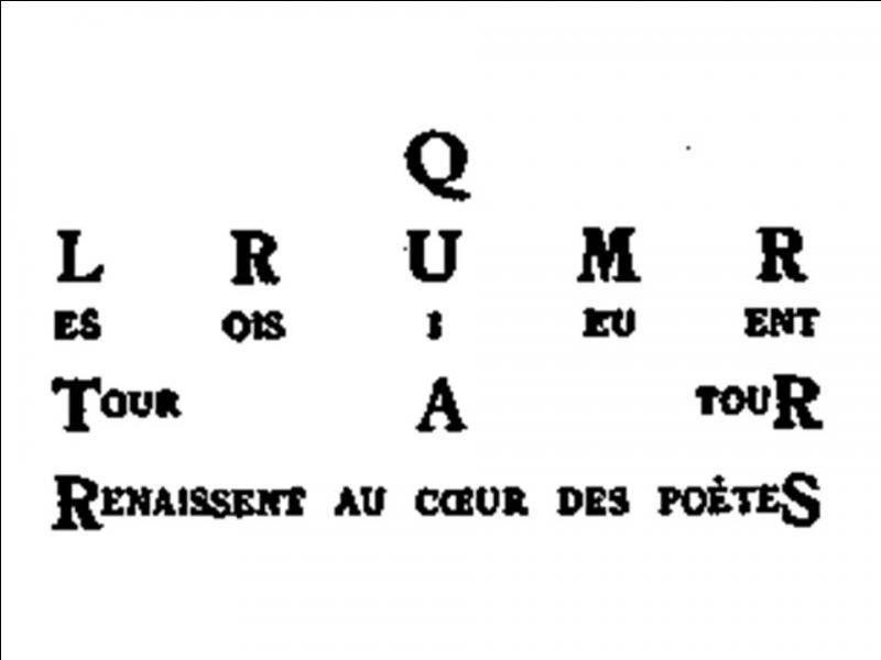"""""""Ils renaissent au cœur des poètes"""". De qui Guillaume Apollinaire parle-t-il ?"""