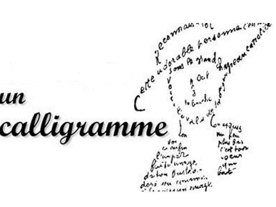 Les secrets des calligrammes