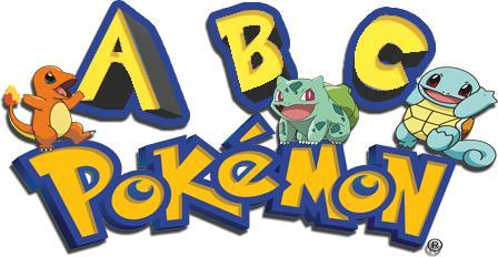 L'alphabet Pokémon