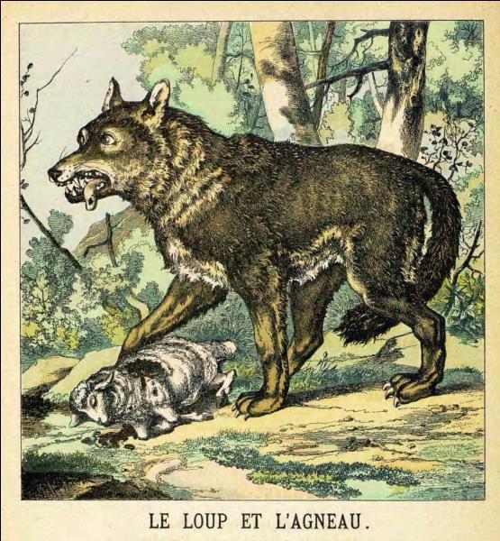 """Quelle est la morale extraite de la fable """"Le loup et l'agneau"""" écrite par Phèdre ?"""
