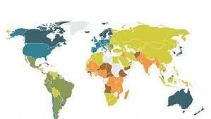 Quelques pays du monde