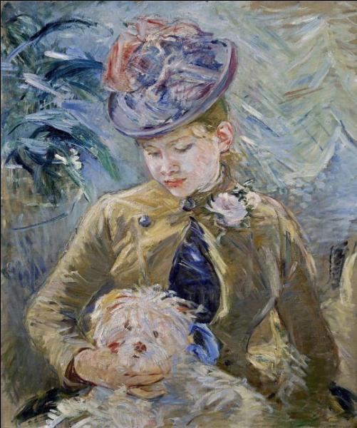 """Qui a peint """"Jeune fille au chien"""" ?"""