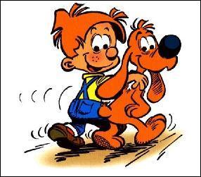 """Dans la bande dessinée """"Boule et Bill"""", comment s'appelle le chien ?"""