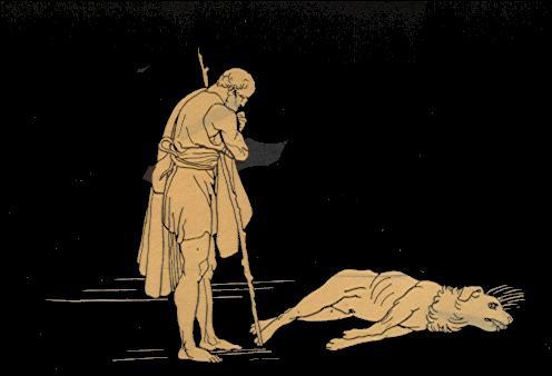 Dans l'Odyssée d'Homère, comment le chien d'Ulysse s'appelle-t-il ?