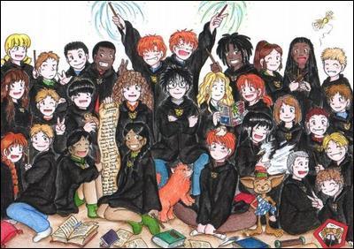 Comment s'appelle celle fondée par Harry Potter et ses amis ?