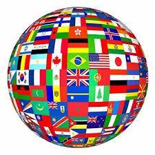 Les drapeaux des différents pays