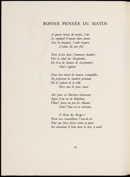 """""""Les Illuminations"""" est un recueil de poèmes d'Arthur Rimbaud."""