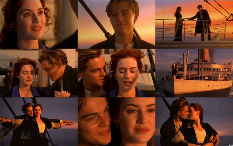 """Ces amoureux se trouvent dans le film culte """"Titanic"""", qui forme ce couple ?"""