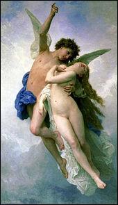 """Ceci est un tableau peint par William Bouguereau, il se nomme """"Psychè et l'Amour"""". Quand a-t-il été peint ?"""