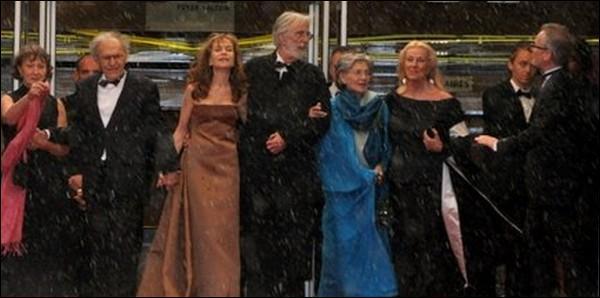"""Quelle est l'année de sortie du film franco-autrichien réalisé par Michael Haneke """"Amour"""" ?"""
