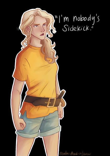 Annabeth Chase est la fille de :