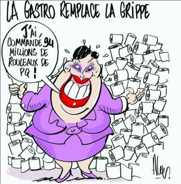 Quelle est cette grippe qui a sévi en 2009 en France, et contre laquelle 94 millions de doses de vaccin ont été achetées ?
