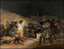"""Qui a peint le tableau intitulé """"Tres de Mayo"""" ?"""