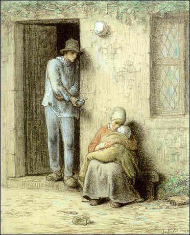 """Qui a peint """"L'enfant malade"""""""
