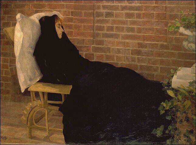 """Qui a peint """"La malade"""" ?"""