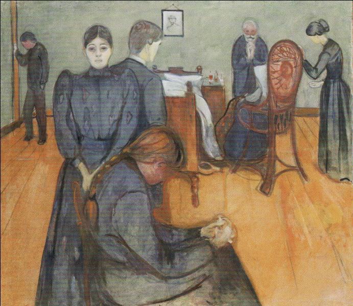 """Qui a peint """"Mort dans la chambre de la malade"""" ?"""