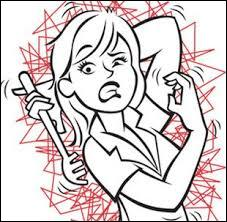 Maladie dermatologique caractérisée par l'apparition de plaques rouges en relief, provoquant de fortes démangeaisons.