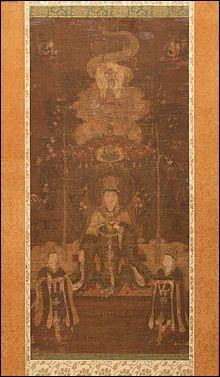 Allons du côté des Japonais et essayons de trouver le nom de la déesse qui est considérée comme la déesse du bonheur, de la fertilité et de la beauté. C'est...