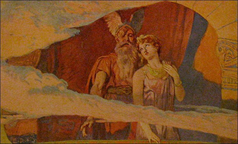 Chez les Scandinaves, Frigg est la déesse de l'amour mais elle a aussi d'autres attributs et pouvoirs : ...