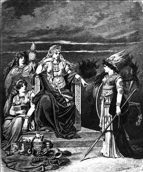 Elle a beau avoir bien des pouvoirs et des attributs, et bien qu'elle soit déesse, Frigg a besoin de l'aide de sa servante Frulla. Mais pourquoi ?