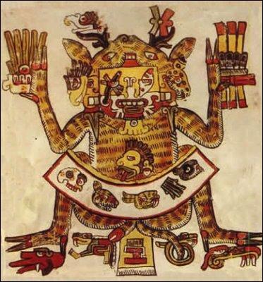 Pour les Aztèques, Xochipilli est le dieu de l'amour mais aussi...